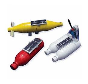 Solar Bottle Boats