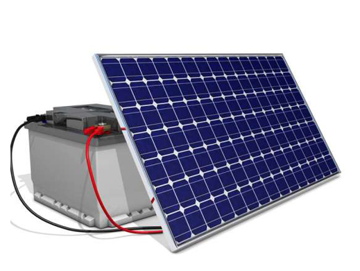Keeping Solar Batteries Outside for Long Periods