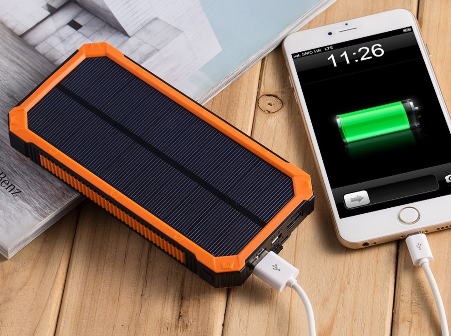 10 Best Solar Chargers For Backpacking