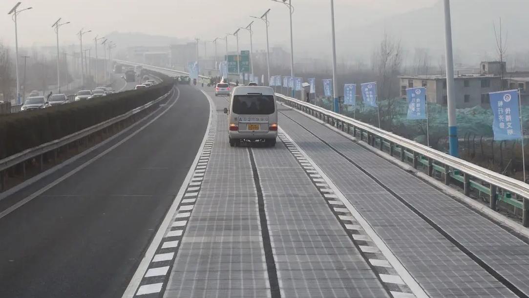 Solar Powered Road