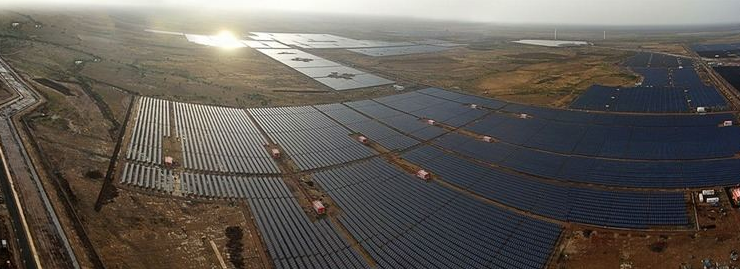 - Huanghe Hydropower Golmud Solar Park